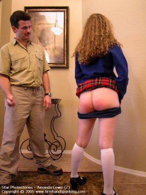 Firm Hand Spanking - 08.07.2005 - Bare Bottom Caning - image 16