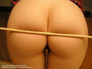 Firm Hand Spanking - 07.05.2004 - Bare Bottom Caning - image 15
