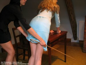 Firm Hand Spanking - 06.10.2006 - Caning On Sheer Panties - image 15