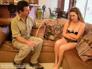 Firm Hand Spanking - 05.08.2005 - Caning On Sheer Panties - image 16