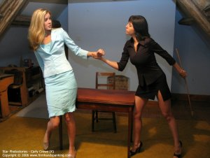Firm Hand Spanking - 06.10.2006 - Caning On Sheer Panties - image 5