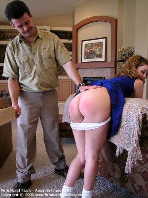 Firm Hand Spanking - 06.05.2005 - Bare Bottom Paddling - image 5