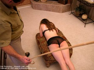 Firm Hand Spanking - 05.08.2005 - Caning On Sheer Panties - image 12