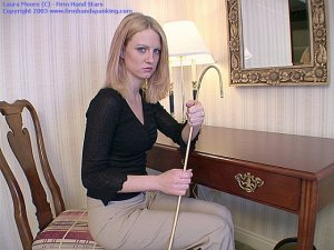Firm Hand Spanking - 04.10.2003 - Bare Bottom Caning - image 3