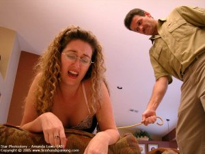 Firm Hand Spanking - 05.08.2005 - Caning On Sheer Panties - image 13