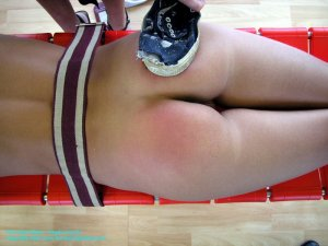 Firm Hand Spanking - 05.03.2004 - Nude Slippering - image 15