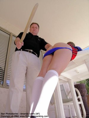 Firm Hand Spanking - 02.12.2005 - Bare Bottom Paddling - image 11