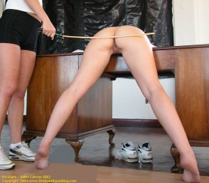 Firm Hand Spanking - 02.04.2004 - Nude Caning - image 9