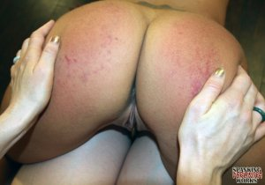 Spanking Veronica Works - Rainbow Spankings - image 17