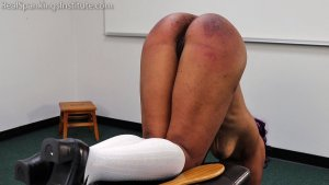 Real Spankings Institute - Cupcake: Punished By Miss Betty And The Dean (part 3 Of 3) - image 1