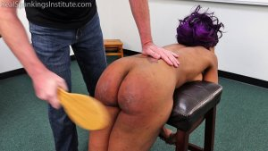 Real Spankings Institute - Cupcake: Punished By Miss Betty And The Dean (part 3 Of 3) - image 6