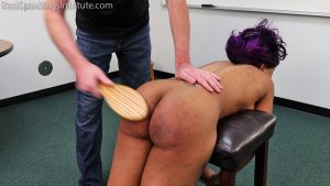 Real Spankings Institute - Cupcake: Punished By Miss Betty And The Dean (part 3 Of 3) - image 7