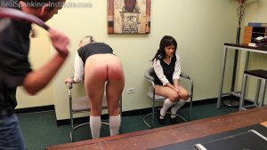 Real Spankings Institute - Spanked Together (part 3 Of 4) - image 1