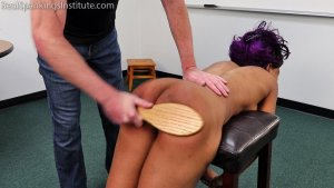 Real Spankings Institute - Cupcake: Punished By Miss Betty And The Dean (part 3 Of 3) - image 2