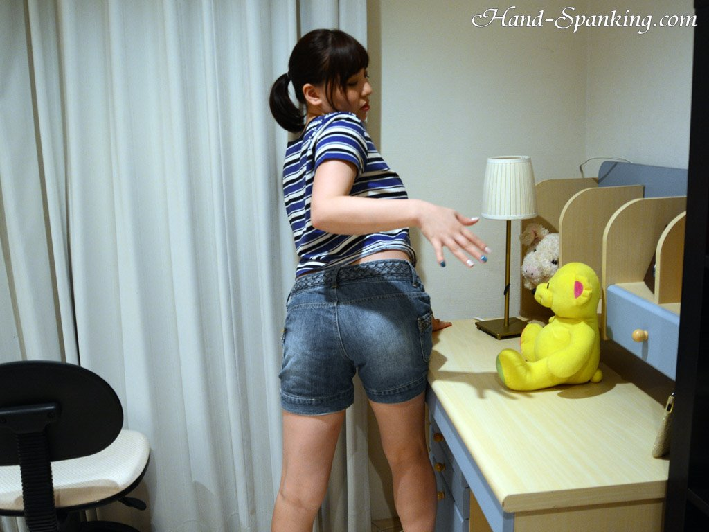 Firm Hand Spanking - Lyra Bryant - Principals Office - At