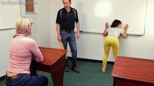 Real Spankings - Paddled In The Classroom (part 1 Of 2) - image 1