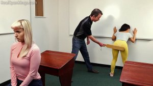 Real Spankings - Paddled In The Classroom (part 1 Of 2) - image 8