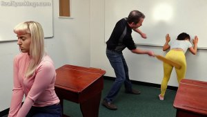 Real Spankings - Paddled In The Classroom (part 1 Of 2) - image 2
