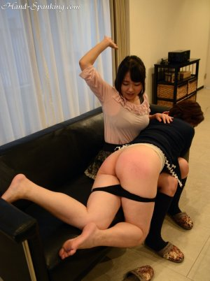 Hand Spanking - Mom's New Friend - image 7