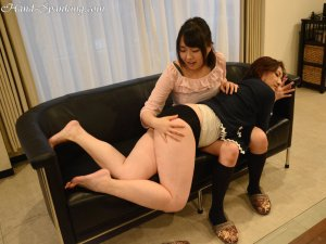 Hand Spanking - Mom's New Friend - image 6