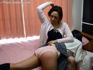 Hand Spanking - Painful Christmas Present - image 2