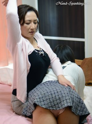 Hand Spanking - Painful Christmas Present - image 9