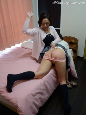Hand Spanking - Painful Christmas Present - image 7