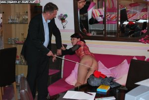 Spanked At Home - Aileen's Spelling Test - image 8