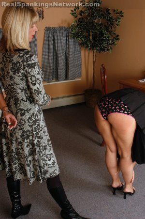 Real Strappings - Ms. Burns Comes In Early - image 5
