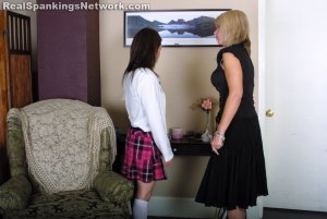 Real Strappings - Claire's Snooping Gets Her Strapped - image 5