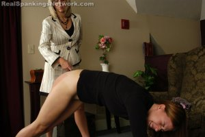 Real Strappings - Monica Uses Ms. Burns' Bank Card - image 3