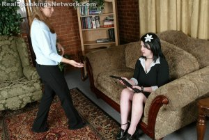 Real Strappings - Lori Bends Over For A Strapping - image 6
