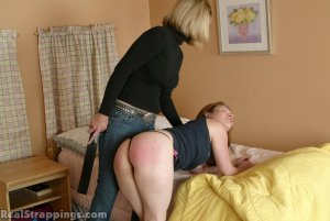 Real Strappings - Claire Wakes Up To A Spanking - image 1
