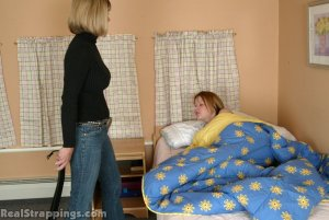 Real Strappings - Claire Wakes Up To A Spanking - image 8
