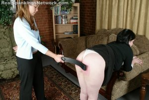 Real Strappings - Lori Bends Over For A Strapping - image 7