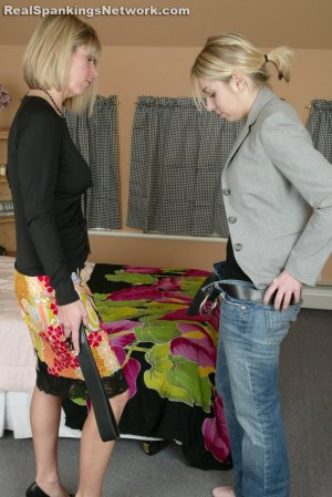 Real Strappings - Jenna: Caught With A Boy - image 7