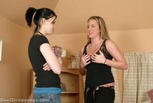 Real Strappings - Riley Is Caught With Contraband - image 2
