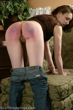Real Strappings - Melody: Bent Over And Strapped - image 6