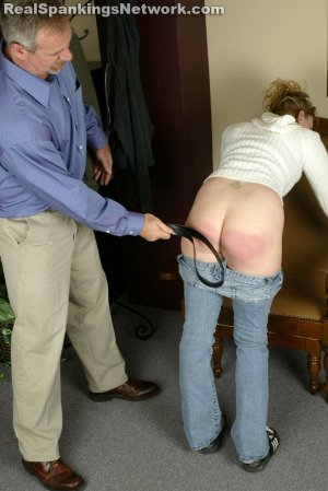Real Strappings - Brooke: Spanked With Her Own Belt - image 8