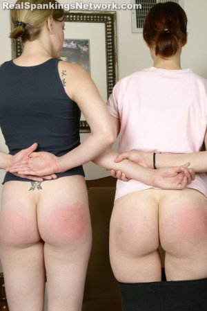 Real Strappings - Ms. Burns Straps Kailee And Lily - image 1