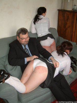 Northern Spanking - Schoolgirls Spanked & Shamed - image 7