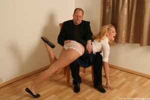 Northern Spanking - The Imperfect Schoolgirl - image 9
