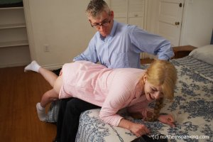 Northern Spanking - Harley Gets The Slipper - Full - image 6