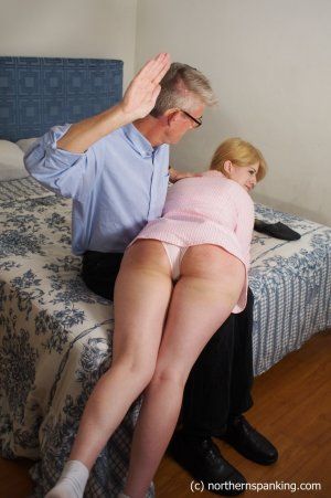 Northern Spanking - Harley Gets The Slipper - Full - image 3