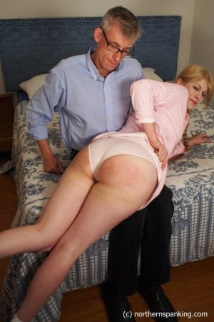 Northern Spanking - Harley Gets The Slipper - Full - image 17