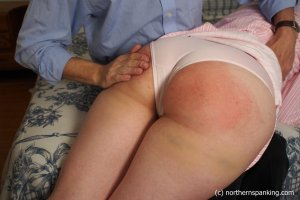 Northern Spanking - Harley Gets The Slipper - Full - image 4