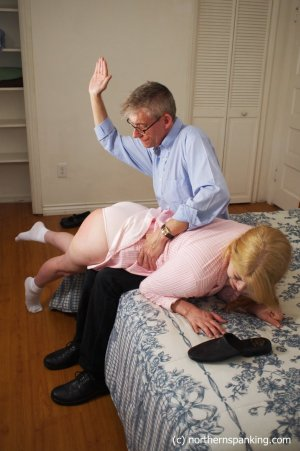 Northern Spanking - Harley Gets The Slipper - Full - image 14