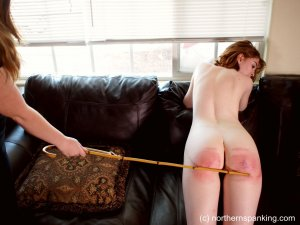 Northern Spanking - Cherry Stripped & Severely Spanked - Full - image 3
