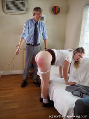 Northern Spanking - Caning Apricot - image 7