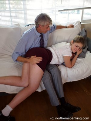 Northern Spanking - Caning Apricot - image 8